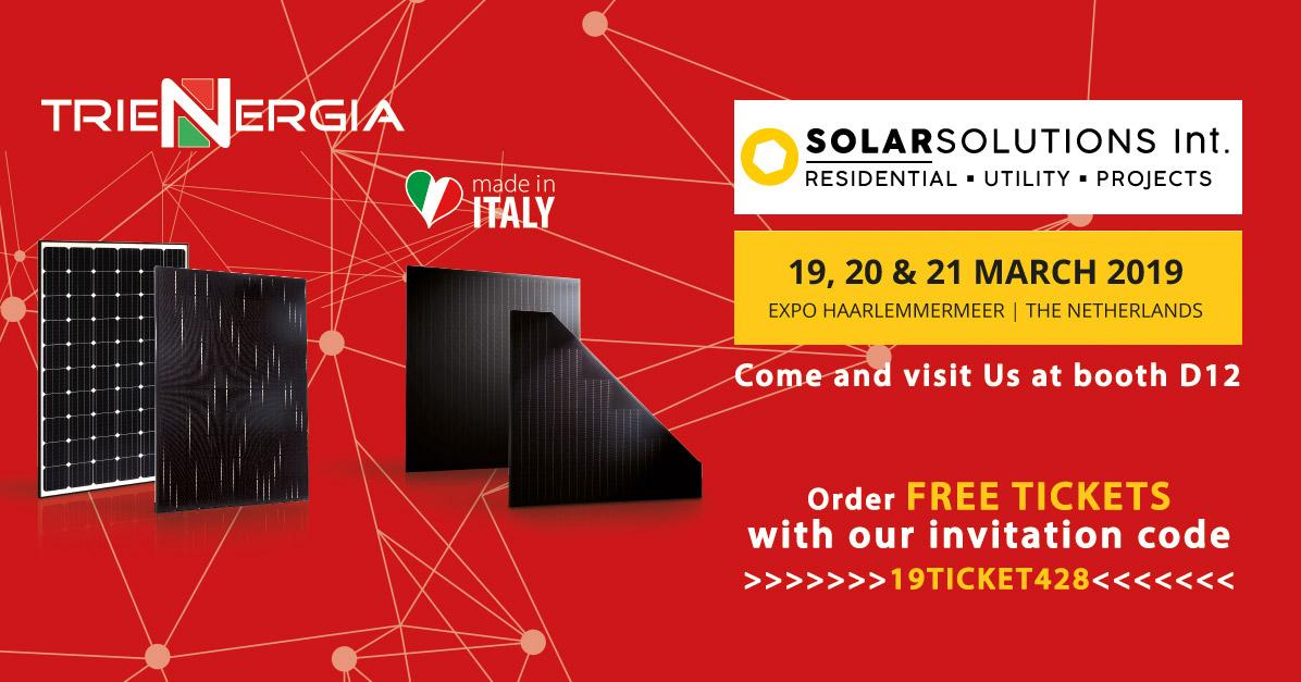 Solar Solution 2019 - Trienergia